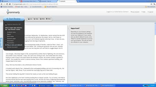 Grammarly Screen Shot 1